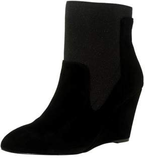 Charles David Charles By David Women's Erie Suede Black Ankle-High Boot - 8M