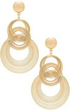 Ettika Art Deco Earrings