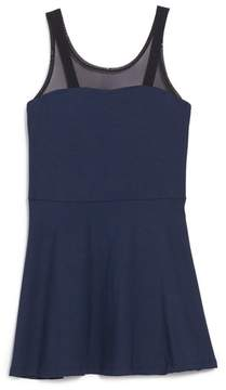 Flowers by Zoe Girl's Illusion Bow Back Dress