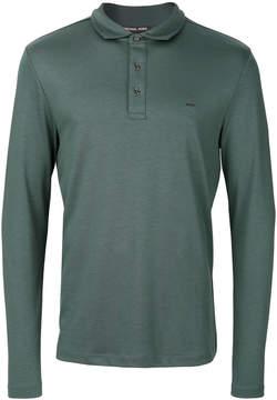 MICHAEL Michael Kors long sleeved polo shirt