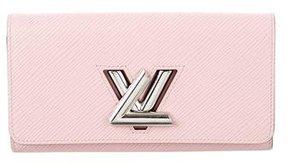 Louis Vuitton Epi Twist Wallet - PINK - STYLE