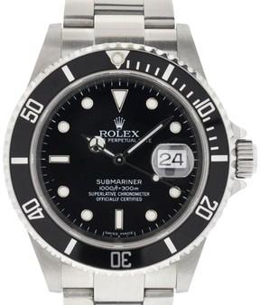 Rolex Submariner 16610 Z Serial 2006 Stainless Steel Watch