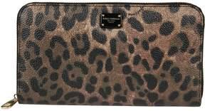 Dolce & Gabbana Leo Zip Around Wallet - NERO - STYLE