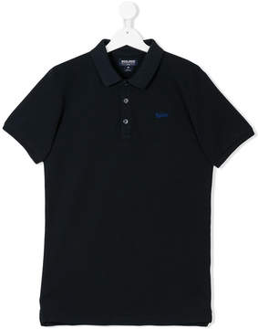Woolrich Kids TEEN classic polo shirt