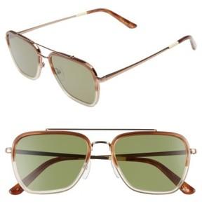Toms Men's Irwin 55Mm Sunglasses - Milk Honey Fade