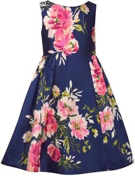 Bonnie Jean Girls 7-16 Printed Mikado Dress