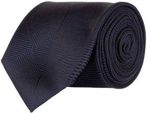 Pal Zileri Geometric Cube Print Tie