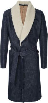 Caruso belted coat
