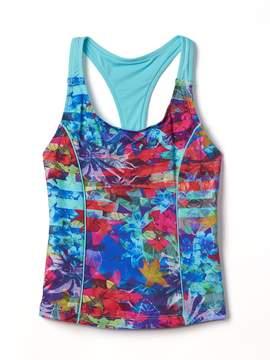 Athleta Girl Tropical Floral Tankini
