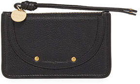 See by Chloe Leather Zip Card Holder