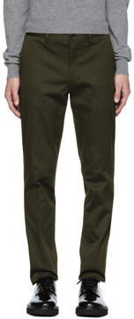 Paul Smith Green Slim Chinos