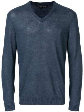 MICHAEL Michael Kors v-neck longsleeved sweater