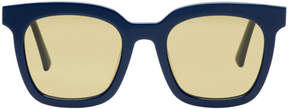 Gentle Monster Navy Finn Sunglasses