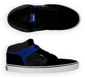 Vans Mens Ellis Mid Suede/Textile Sneakers Black 6.5