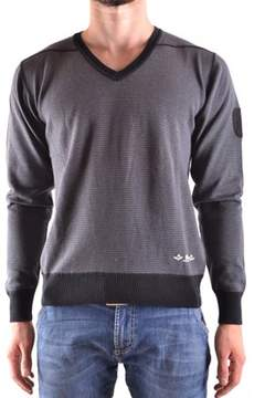 Dekker Men's Grey Cotton Sweater.