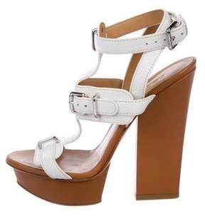 DSQUARED2 Leather Platform Sandals