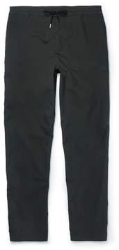 Folk Slim-Fit Tapered Cotton-Blend Drawstring Trousers