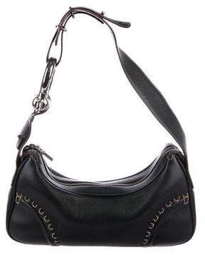 Burberry Small Leather Hobo