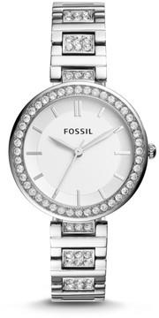 Fossil Karli Three-Hand Stainless Steel Watch