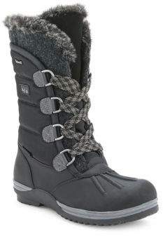 Blondo Sunnery Faux Fur Lace-Up Boots