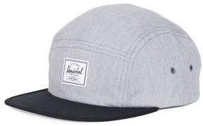 Herschel Men's Glendale Five-Panel Cap - Grey