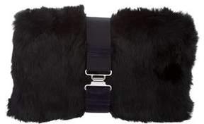 Theory Fur Zahara Clutch