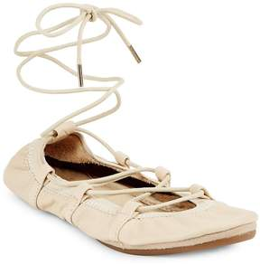 Yosi Samra Women's Leather Dress Ballet Flats