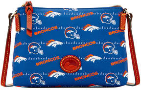 Dooney & Bourke Denver Broncos Nylon Crossbody Pouchette - NAVY - STYLE