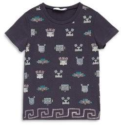 Versace Little Girl's Graphic-Print Tee