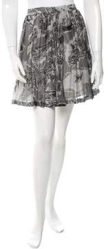 Boy By Band Of Outsiders Printed Mini Skirt w/ Tags