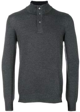 Fay roll neck sweater