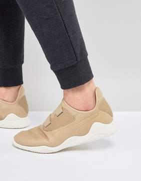 Puma Select Mostro Premium Sneakers In Beige 36382302