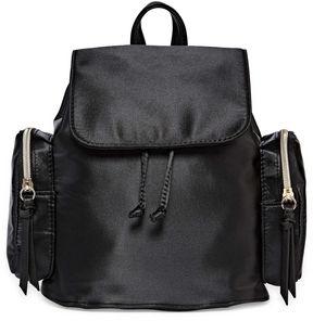 Asstd National Brand Satin Mini Backpack