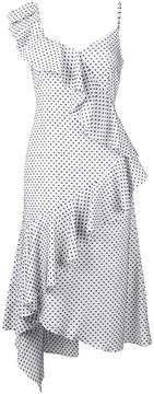 DAY Birger et Mikkelsen Teija polka dot asymmetric dress