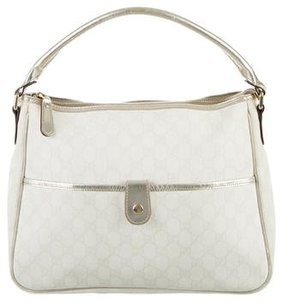 Gucci GG Plus Joy Bag - WHITE - STYLE