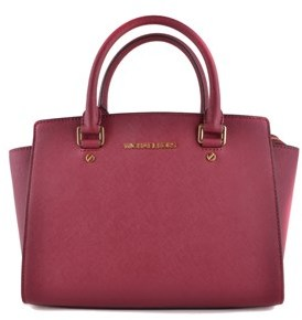 Michael Kors Women's Red Leather Handbag. - RED - STYLE