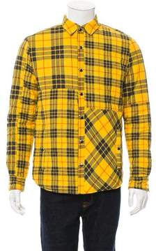 Mostly Heard Rarely Seen Flannel Shirt Jacket