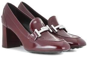 Tod's Loafer-style leather pumps
