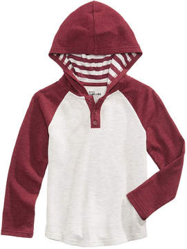 Epic Threads Striped Hooded Henley, Little Boys (4-7), Created for Macy's