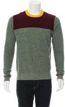 Band Of Outsiders Wool Colorblock Sweater