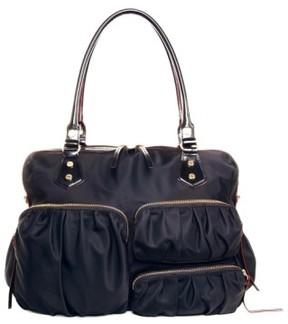 Mz Wallace 'Kate' Bedford Nylon Handbag - Black