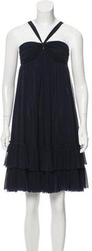 Jean Paul Gaultier Tiered Mini Dress