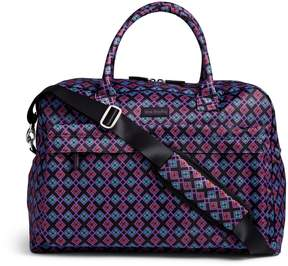 Vera Bradley Perfect Companion Travel Bag - BANANA LEAVES FUCHSIA - STYLE