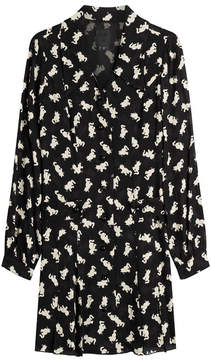 Anna Sui Cat Print Dress