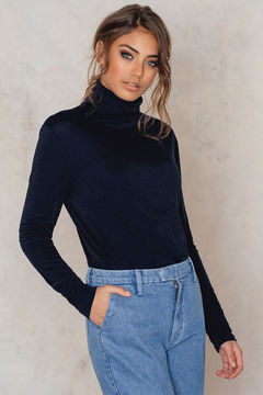 Filippa K Glitter Rollneck Top