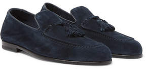 Harry's of London Adrian Suede Tasselled Loafers