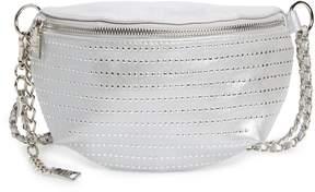 Steve Madden Becca Metallic Studded Belt Bag