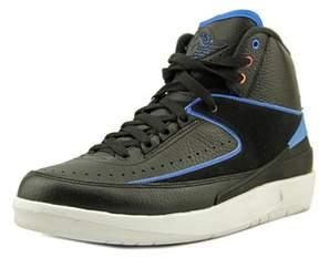 Jordan Air 2 Retro Men Round Toe Leather Sneakers.