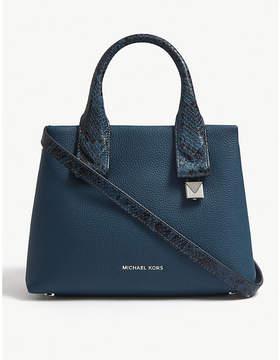 MICHAEL Michael Kors Rollins small leather satchel