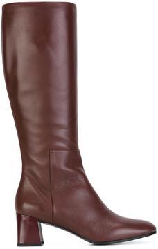 Jil Sander chunky heel boots